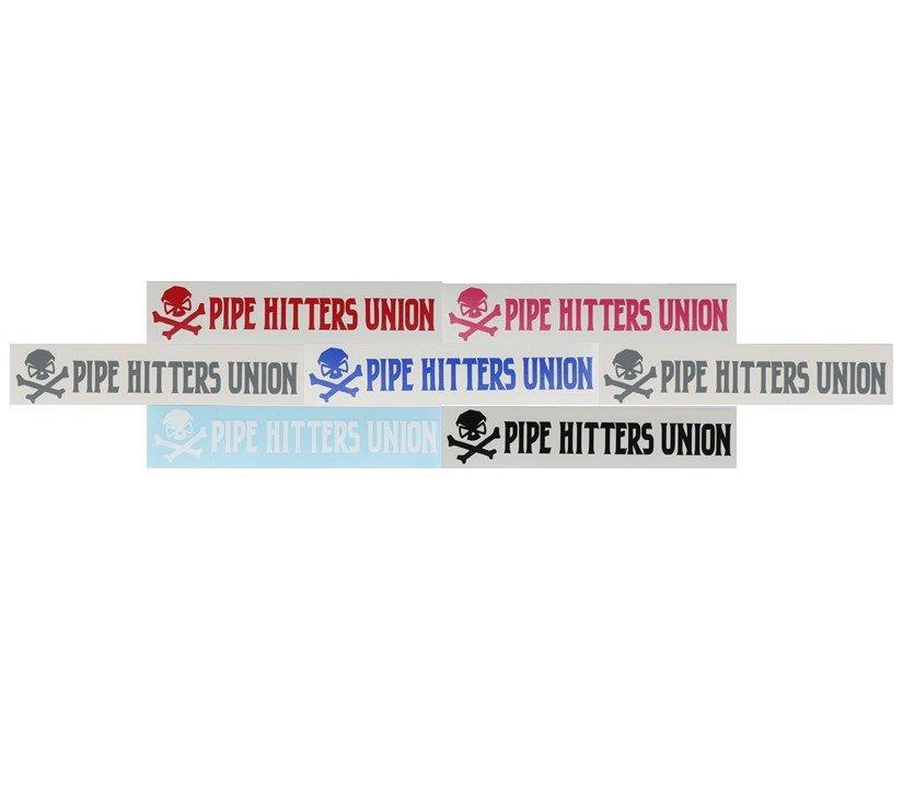 PHU Horizontal Logo - Decal -  - Decals - Pipe Hitters Union