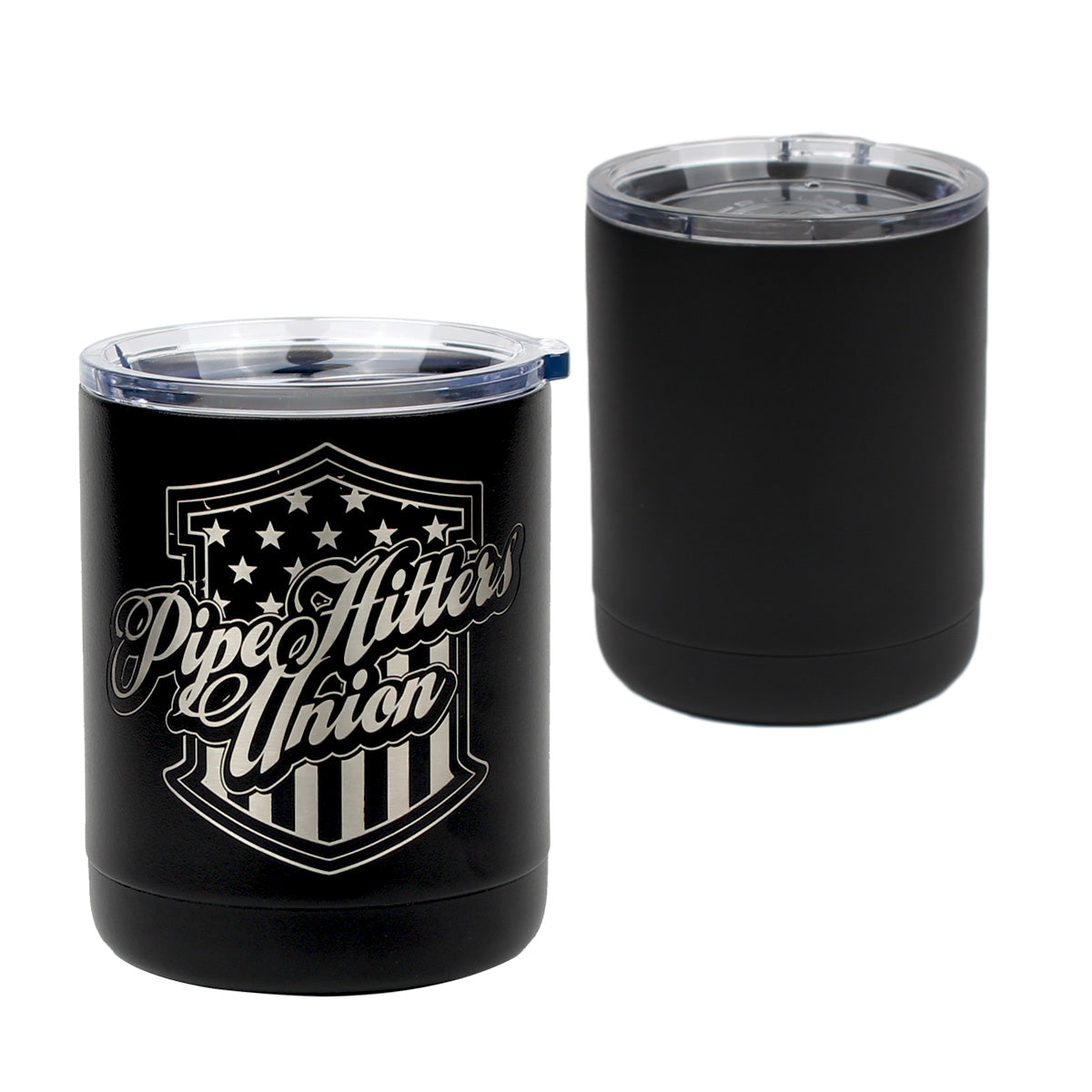 PHU Shield - 10oz Lowball -  - Tumbler - Pipe Hitters Union