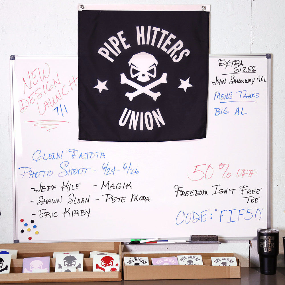 PHU Shield Pennant - Pipe Hitters Union