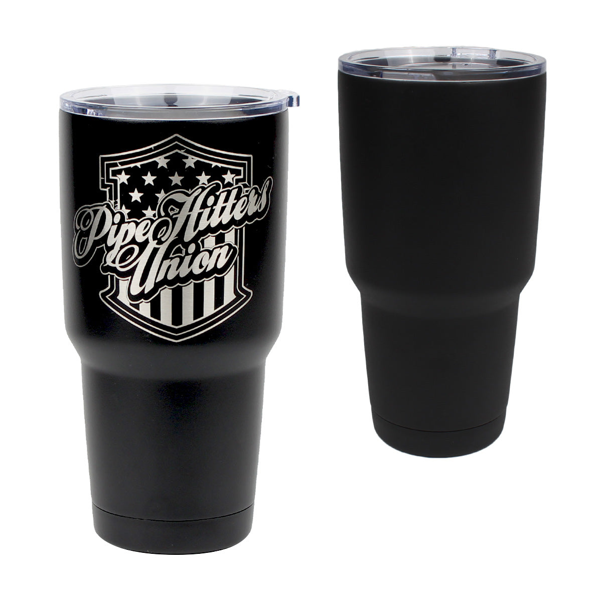 PHU Shield - 30oz Tumbler - Pipe Hitters Union