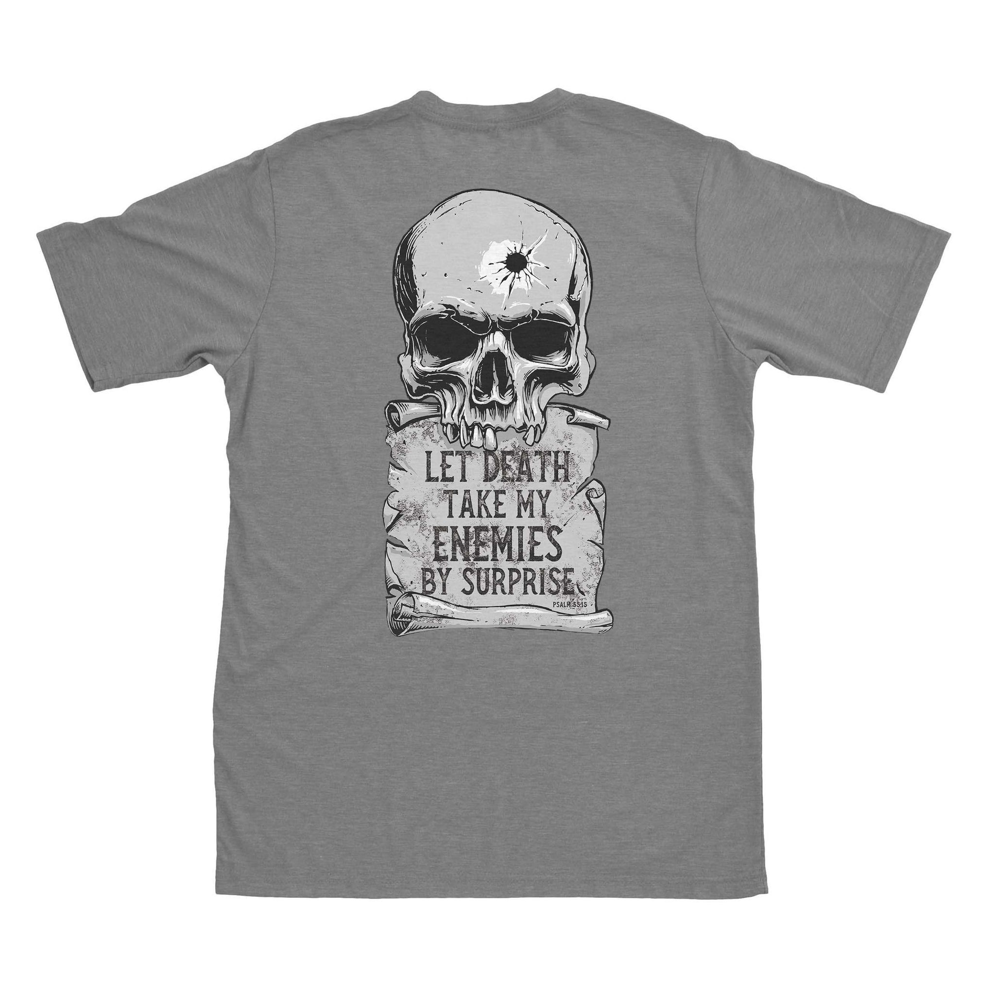 Psalm 55:15 - Grey - T-Shirts - Pipe Hitters Union