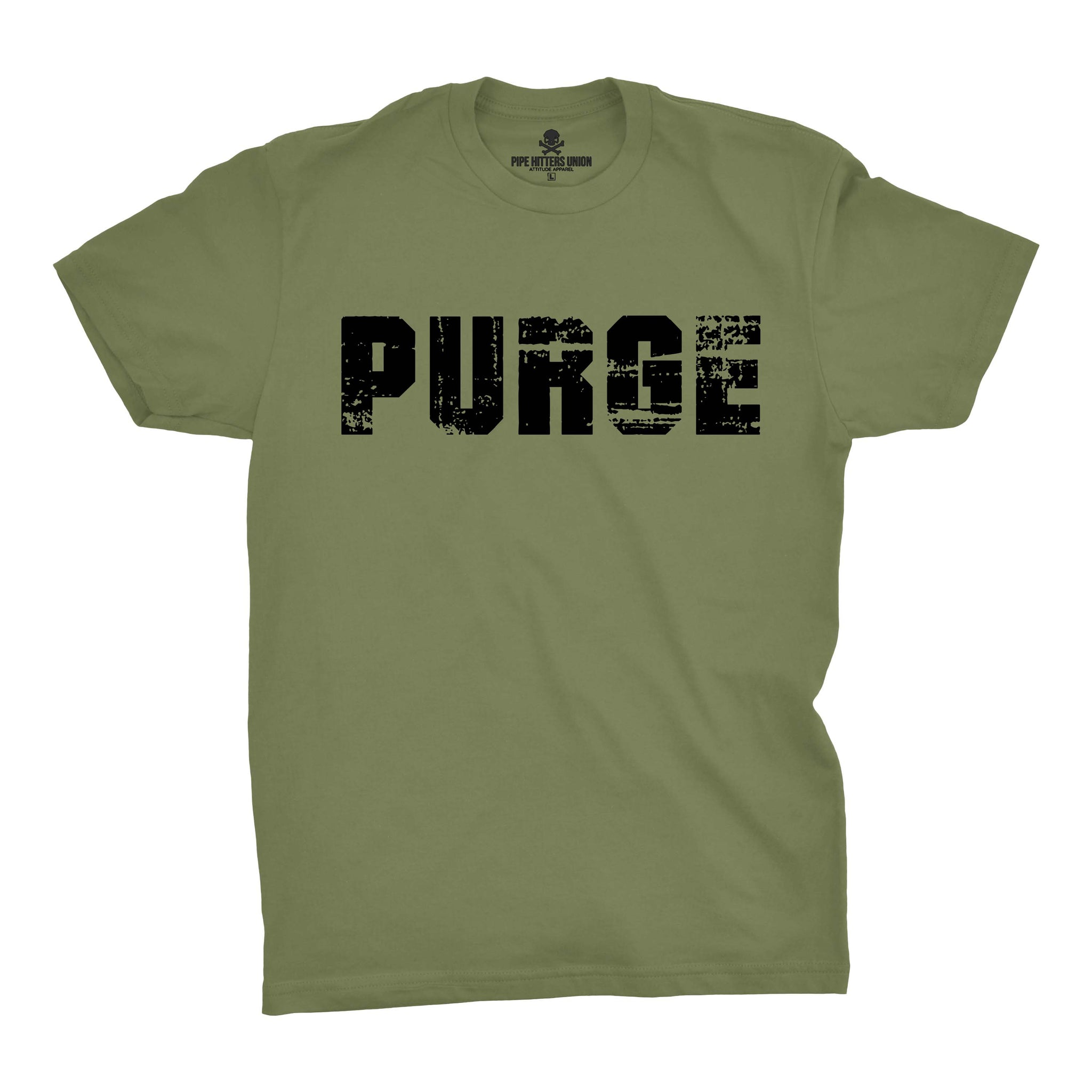 Purge - Military Green - T-Shirts - Pipe Hitters Union