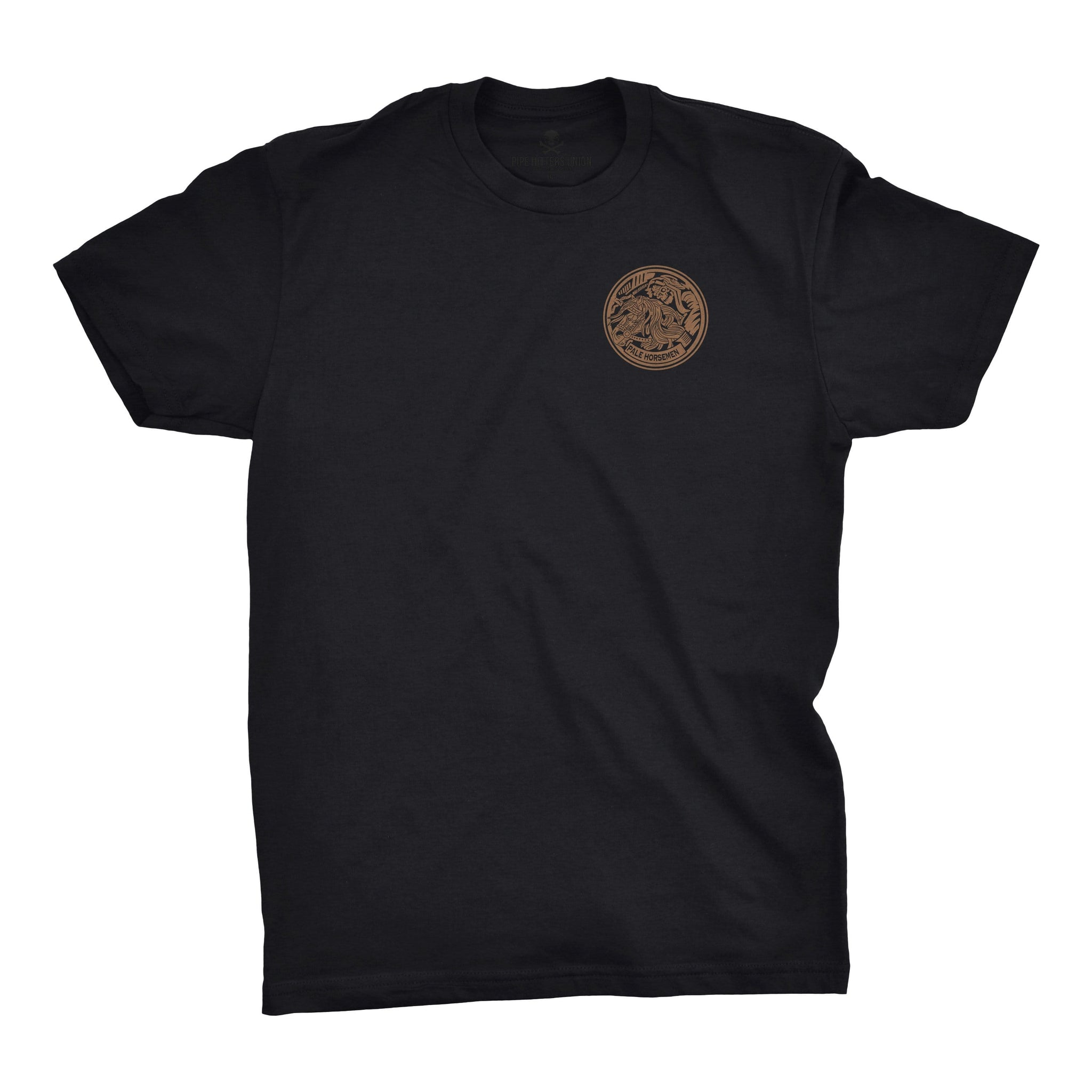 PHUMC Pale Horsemen Chapter Tee - Black - T-Shirts - Pipe Hitters Union