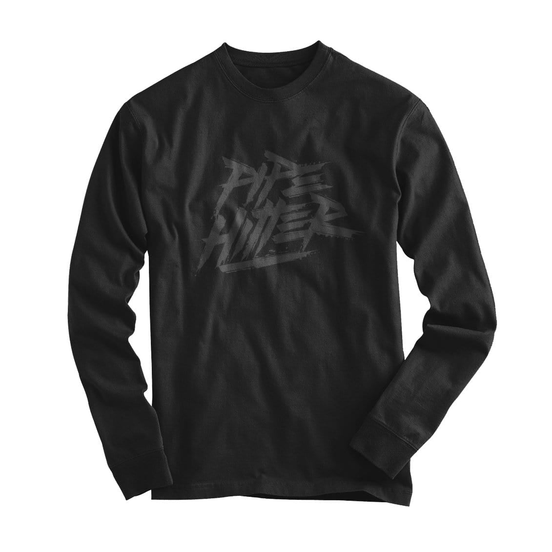 Pipe Hitter - Long Sleeve - Black/Grey - T-Shirts - Pipe Hitters Union