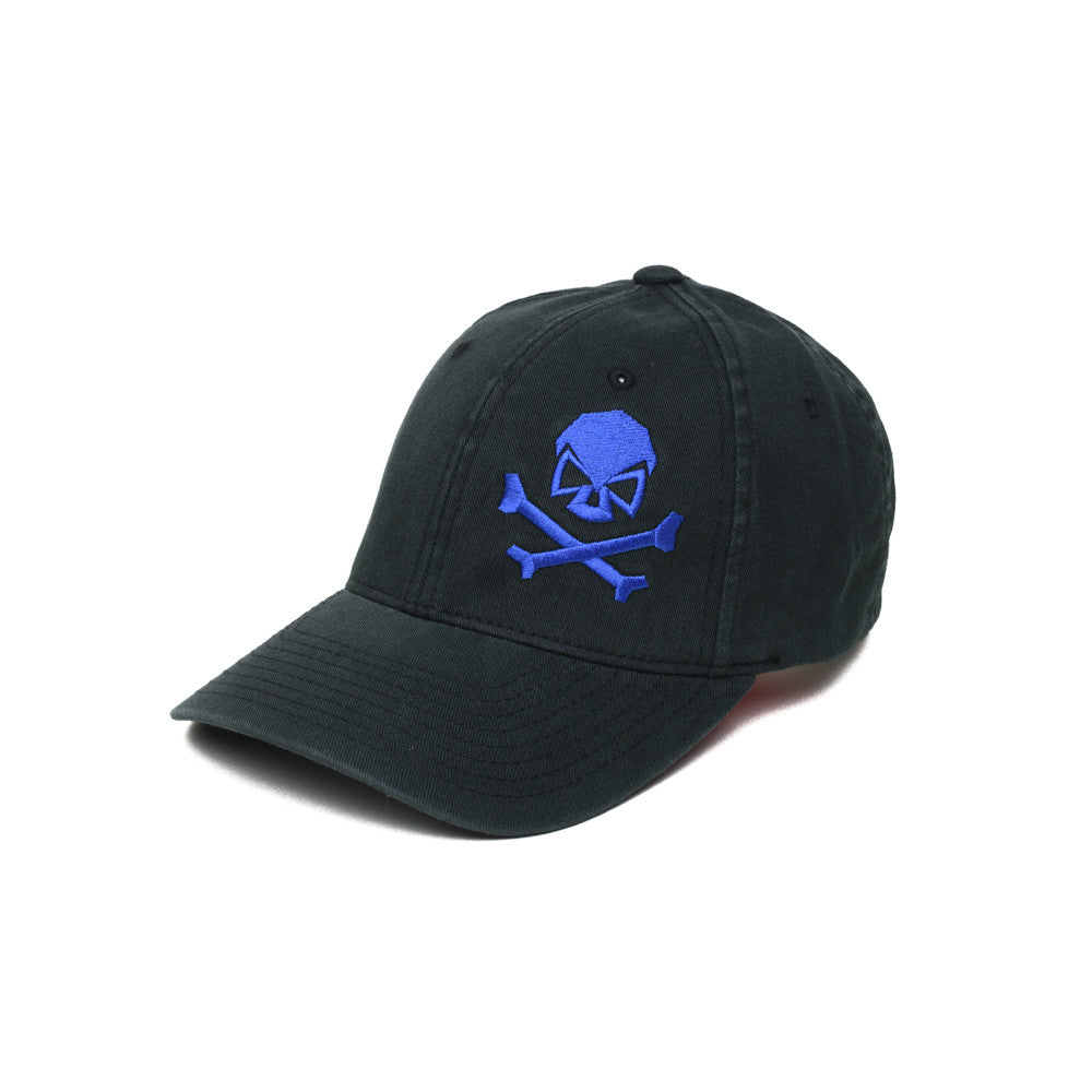Skull & Cross Bones - Black/Blue - Hats - Pipe Hitters Union