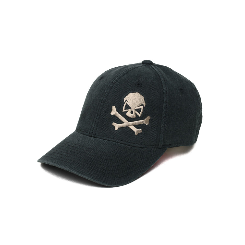 Skull & Cross Bones - Black/Pewter - Hats - Pipe Hitters Union
