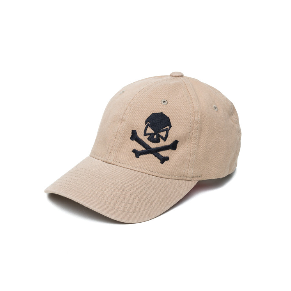 Skull & Cross Bones - Khaki - Hats - Pipe Hitters Union