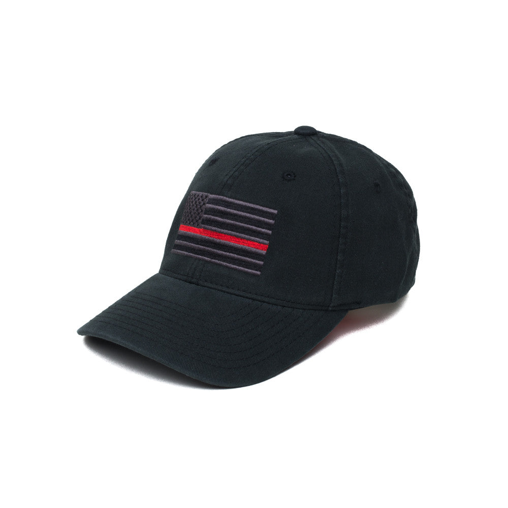 Thin Red Line American Flag - S/M - Hats - Pipe Hitters Union