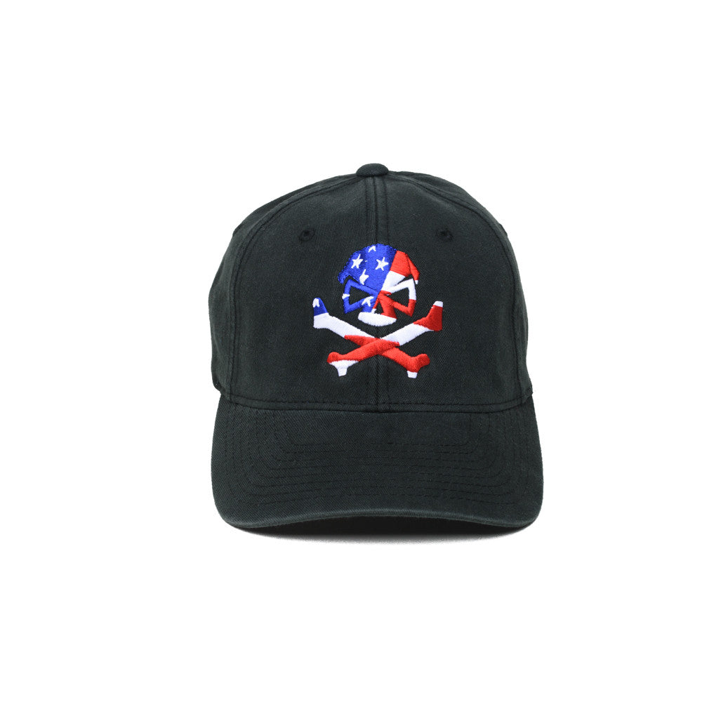 Skull Flag -  - Hats - Pipe Hitters Union