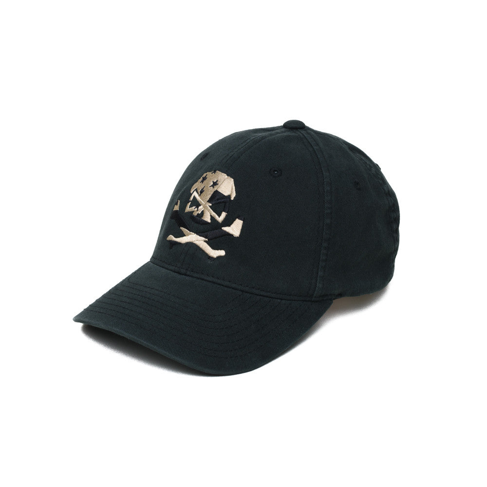 Skull Flag (Subdued) - Black - Hats - Pipe Hitters Union