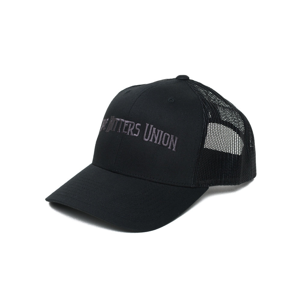 Pipe Hitters Union Trucker - Black/Gray - Hats - Pipe Hitters Union