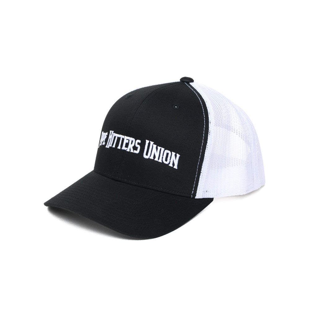 Pipe Hitters Union Trucker - Black/White - Hats - Pipe Hitters Union