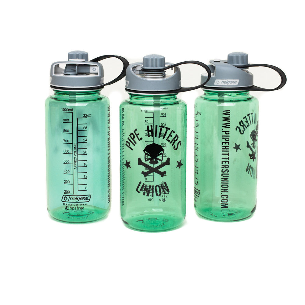 Nalgene Bottle w/ PHU Shield 32oz Multidrink - Sage - Nalgene - Pipe Hitters Union