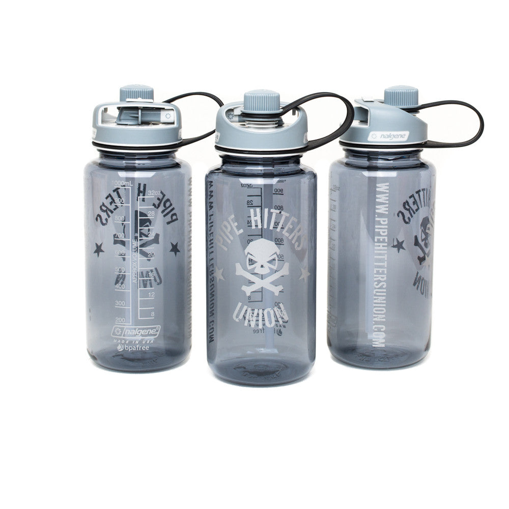 Nalgene Bottle w/ PHU Shield 32oz Multidrink - Smoke - Nalgene - Pipe Hitters Union