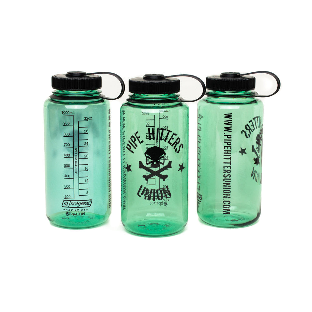 Nalgene Bottle w/ PHU Shield - Sage - Nalgene - Pipe Hitters Union