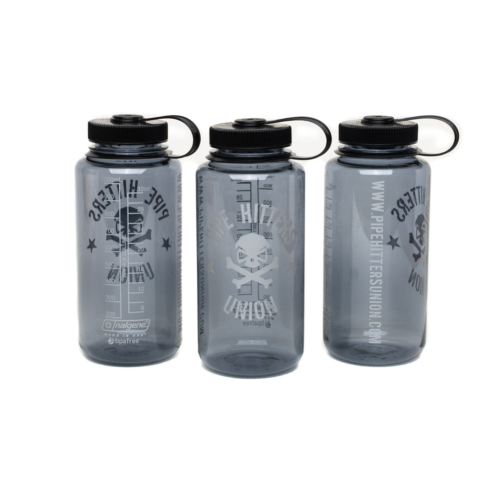 Nalgene Bottle w/ PHU Shield - Smoke - Nalgene - Pipe Hitters Union