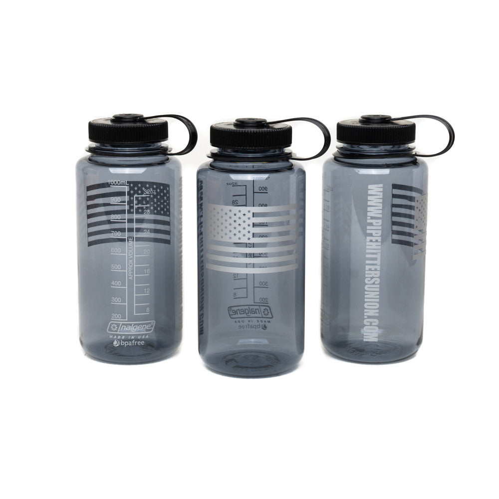 Nalgene Bottle with American Flag - Smoke - Nalgene - Pipe Hitters Union