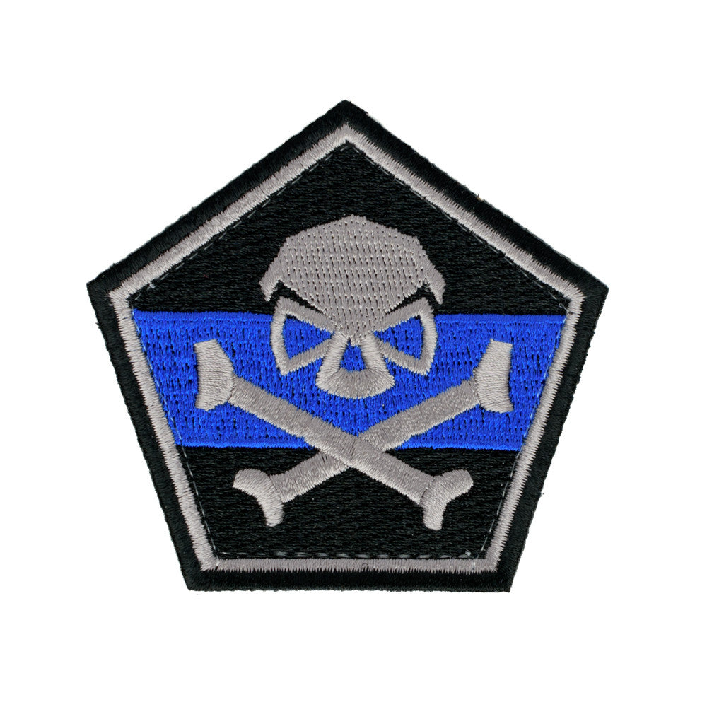 Thin Blue Line -  - Patches - Pipe Hitters Union