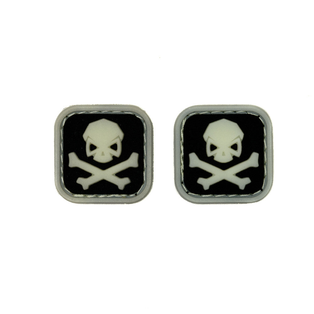 Square Skull & Bones Ranger Eyes (Sold in Pairs) - Pipe Hitters Union