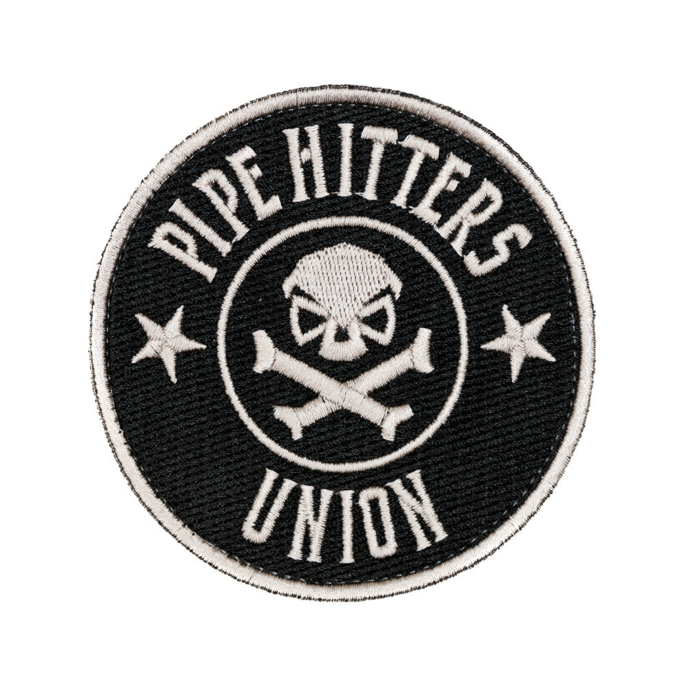 PHU Shield Patch - Black - Patches - Pipe Hitters Union