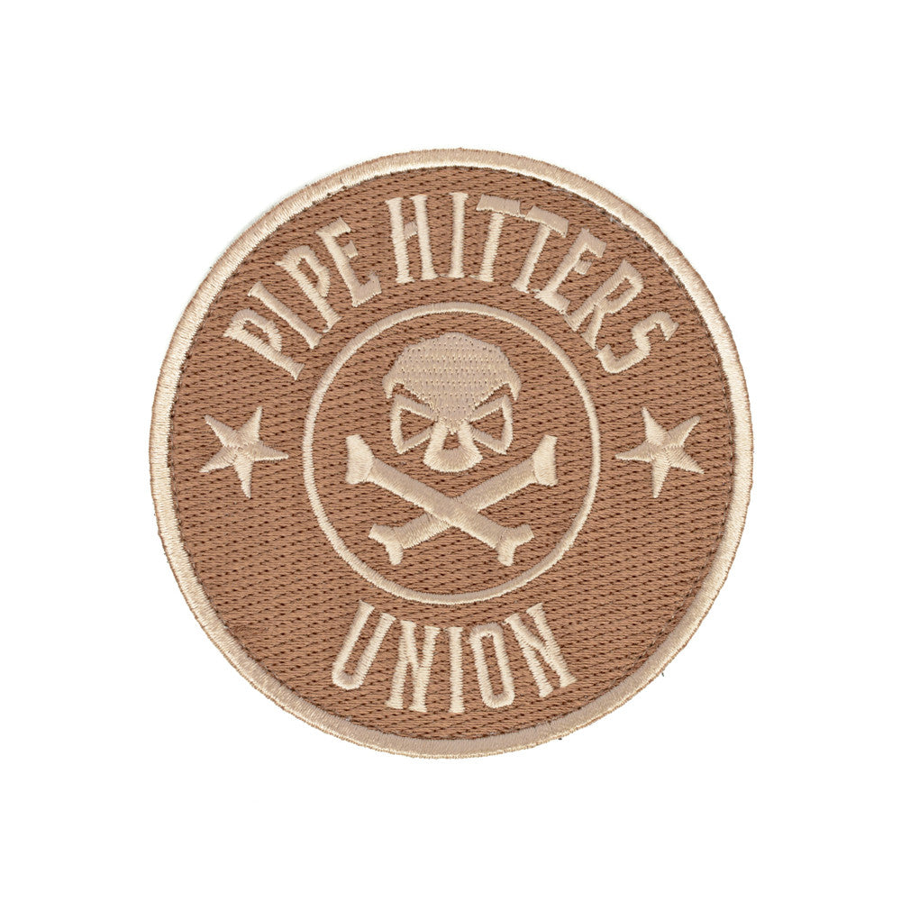PHU Shield Patch - Tan - Patches - Pipe Hitters Union