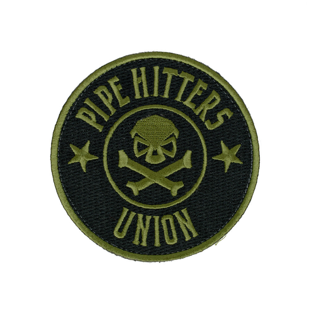 PHU Shield Patch - Olive - Patches - Pipe Hitters Union