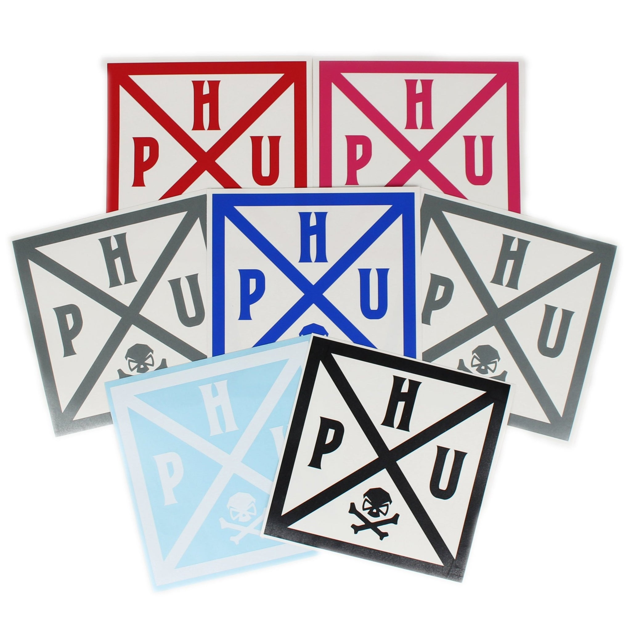 PHU Quad Shot - Decal -  - Decals - Pipe Hitters Union