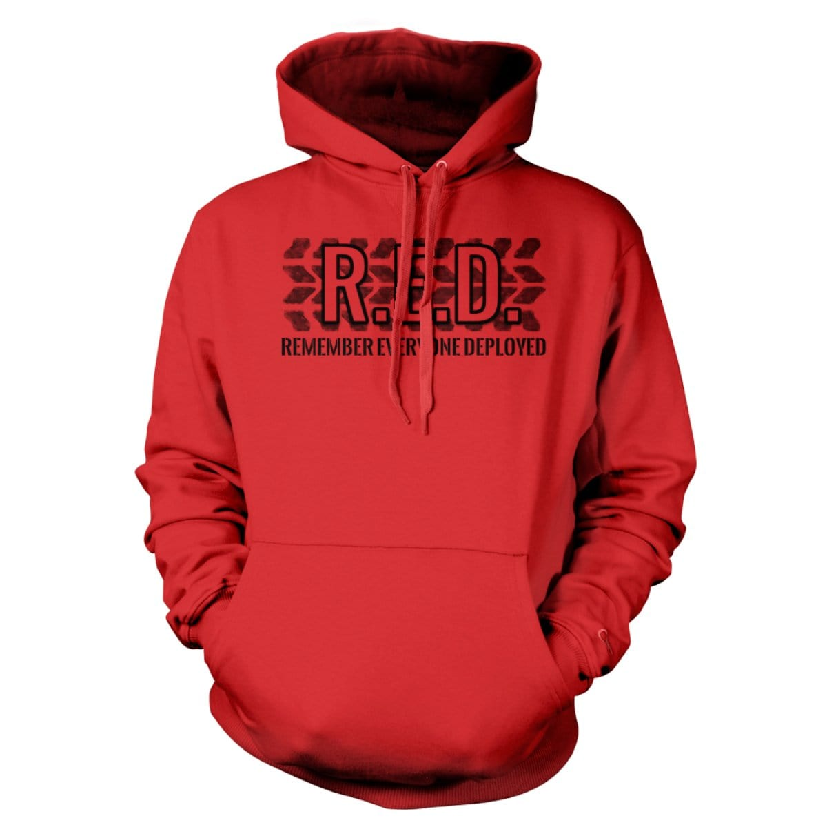 R.E.D. Hoodie - Red - Hoodies - Pipe Hitters Union
