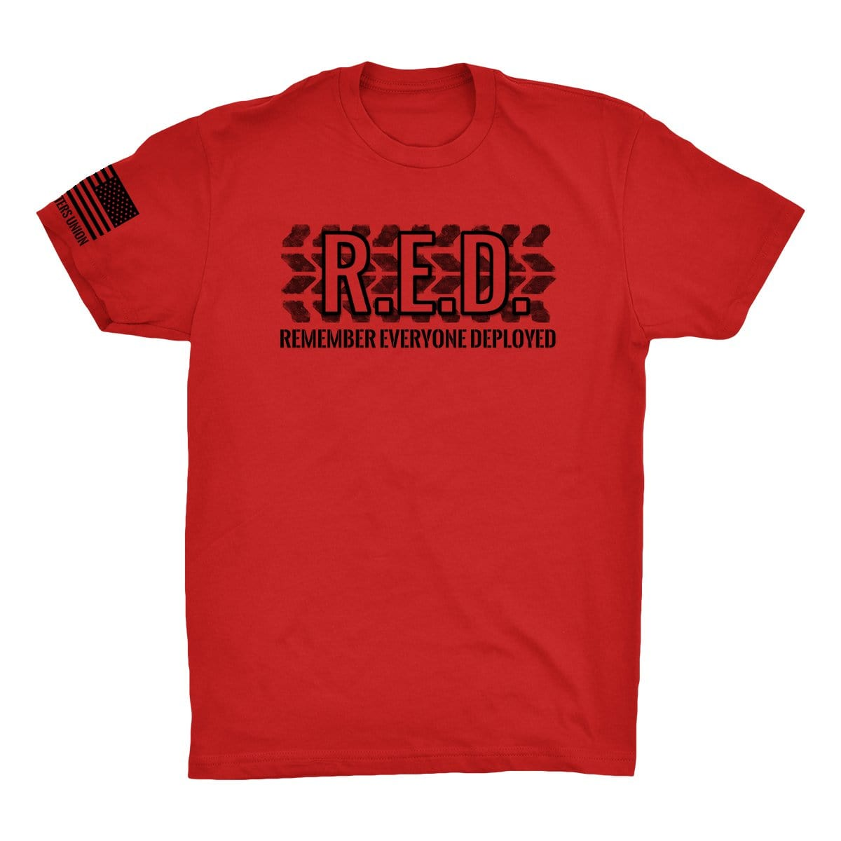 R.E.D. - Red - T-Shirts - Pipe Hitters Union