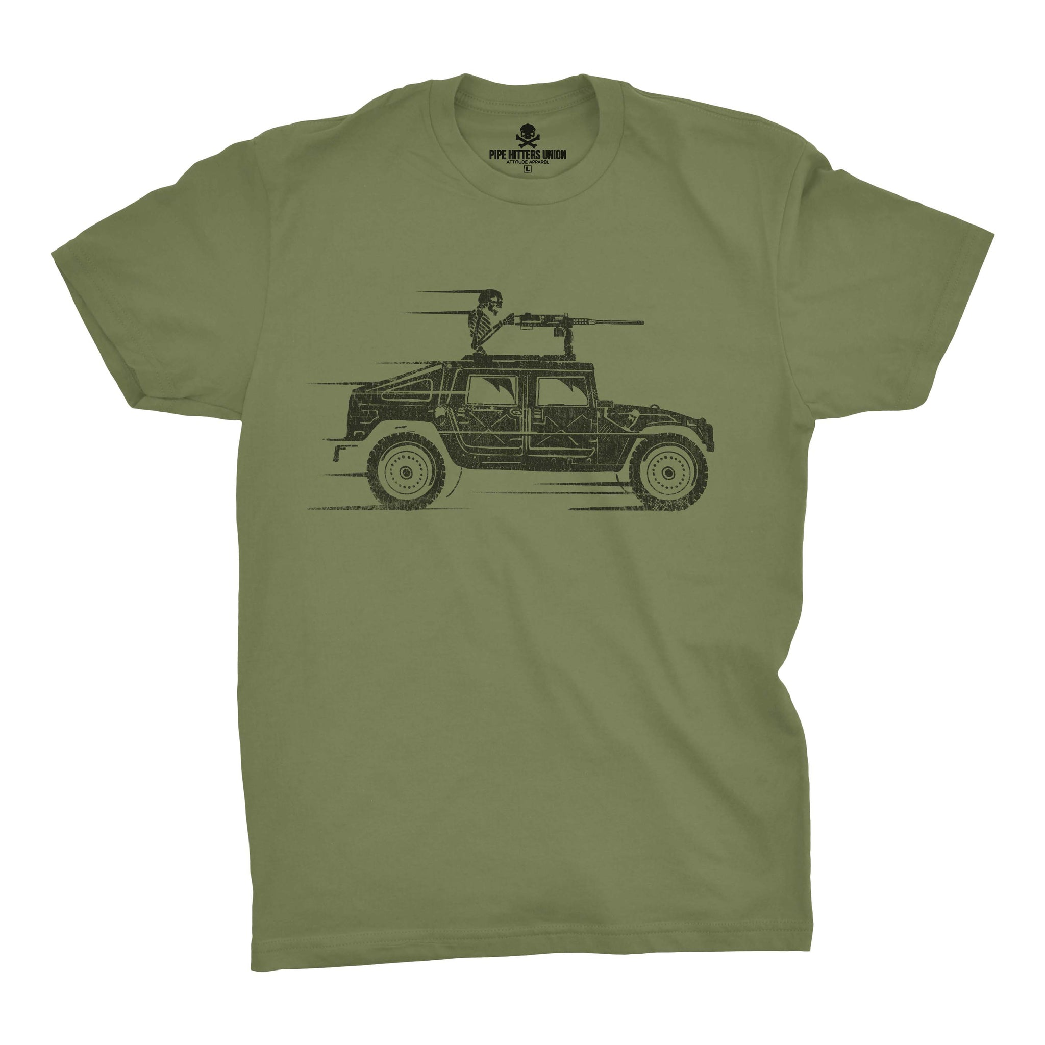 The Reaper - Military Green - T-Shirts - Pipe Hitters Union