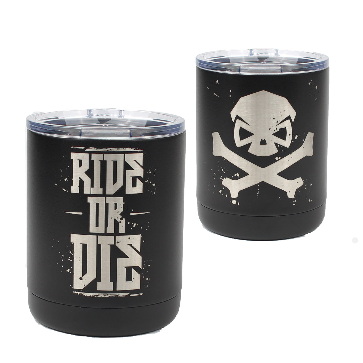 Ride or Die - 10oz Lowball -  - Tumbler - Pipe Hitters Union
