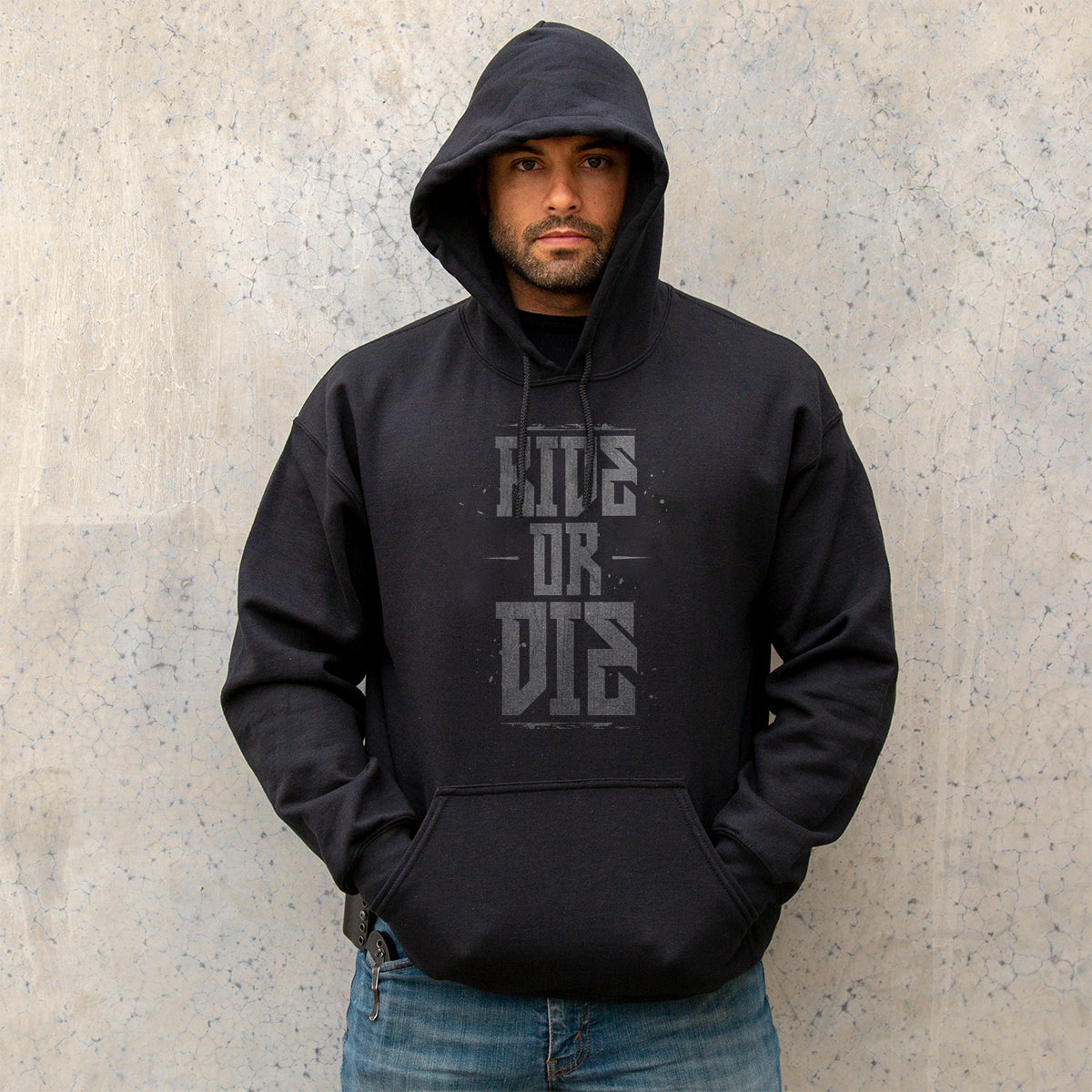 Ride or Die Hoodie - Small - Hoodies - Pipe Hitters Union