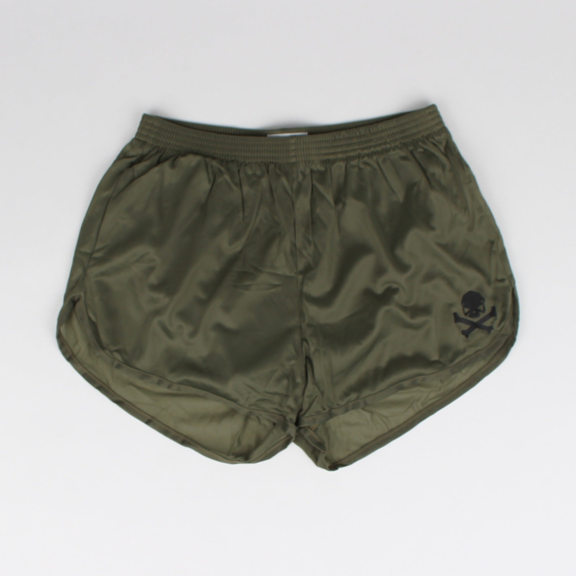 Silkies - Olive with Black Logo