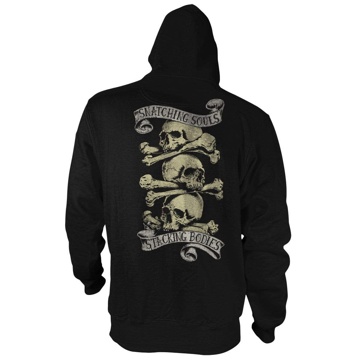 Snatchin' Souls Stackin' Bodies - Hoodie - Pipe Hitters Union