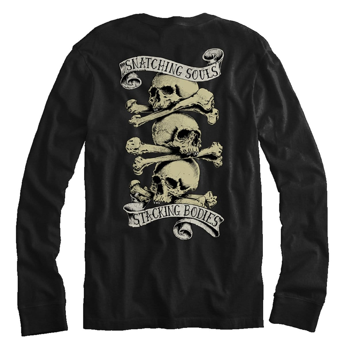 Snatchin' Souls Stackin' Bodies - Long Sleeve - Pipe Hitters Union