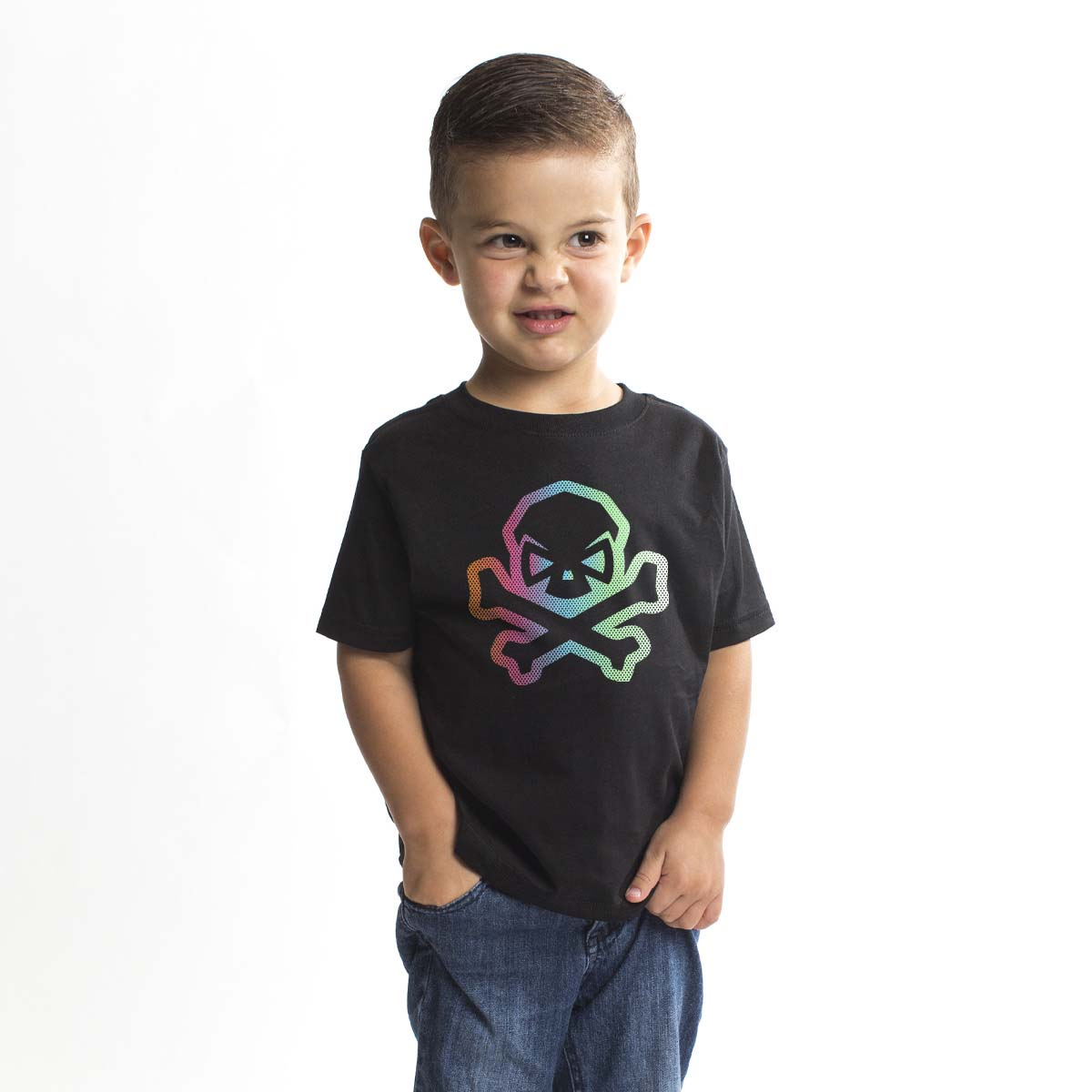Pastel Hitter - Youth - Black - T-Shirts - Pipe Hitters Union