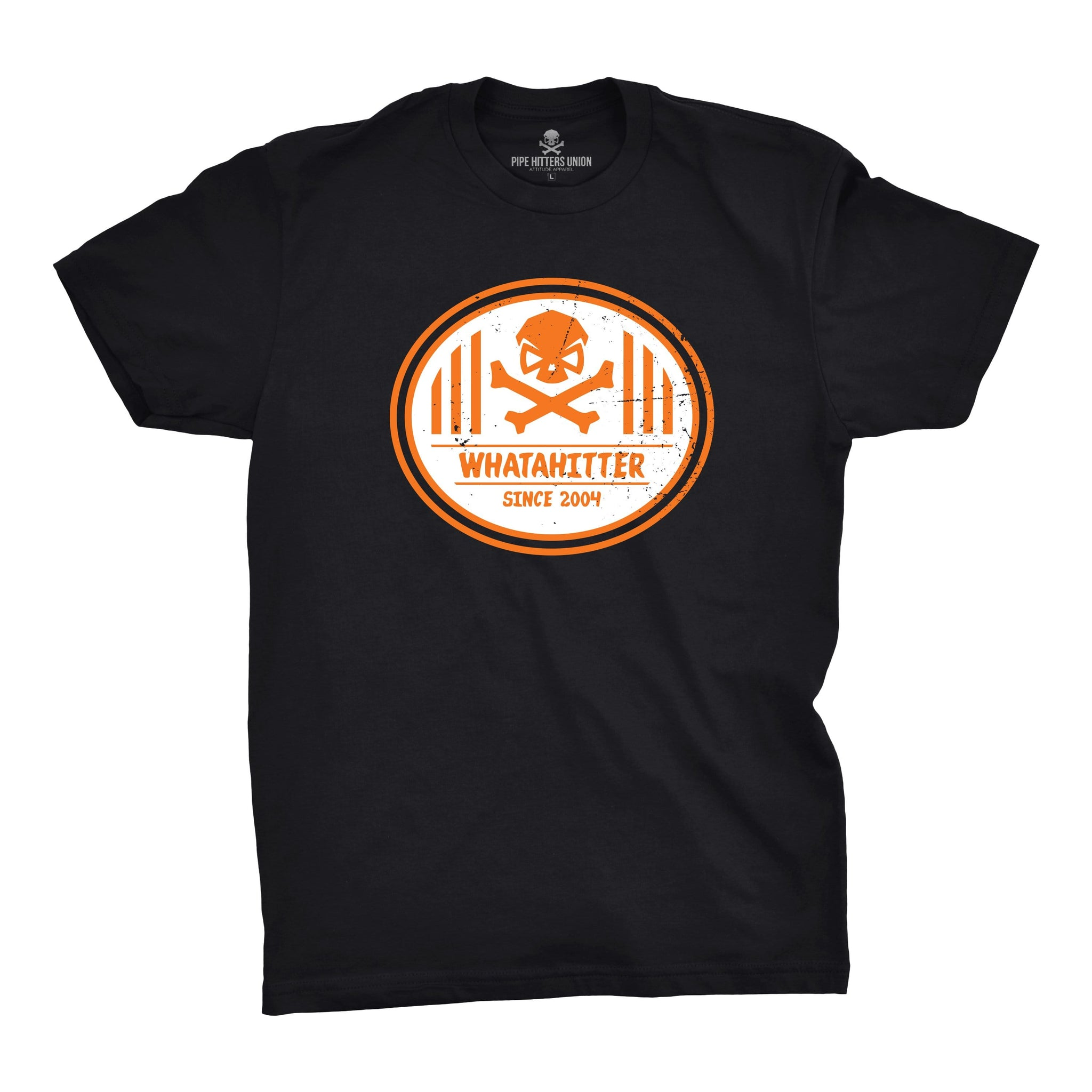 Whatahitter - Black - T-Shirts - Pipe Hitters Union