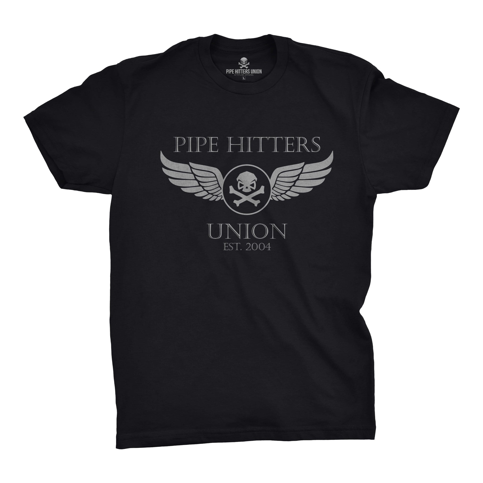 Wings - Black - T-Shirts - Pipe Hitters Union