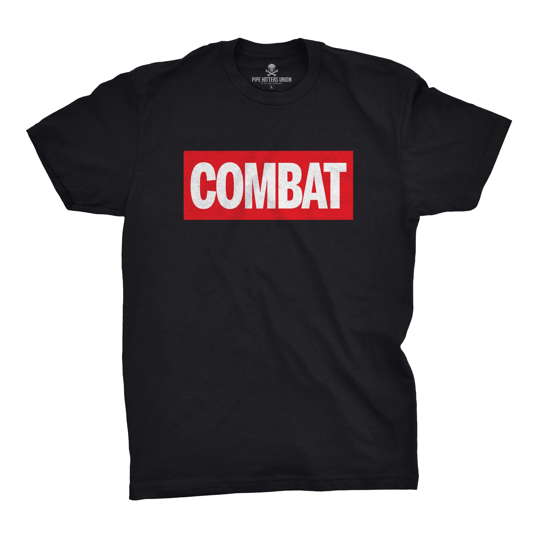 Combat - Black - T-Shirts - Pipe Hitters Union