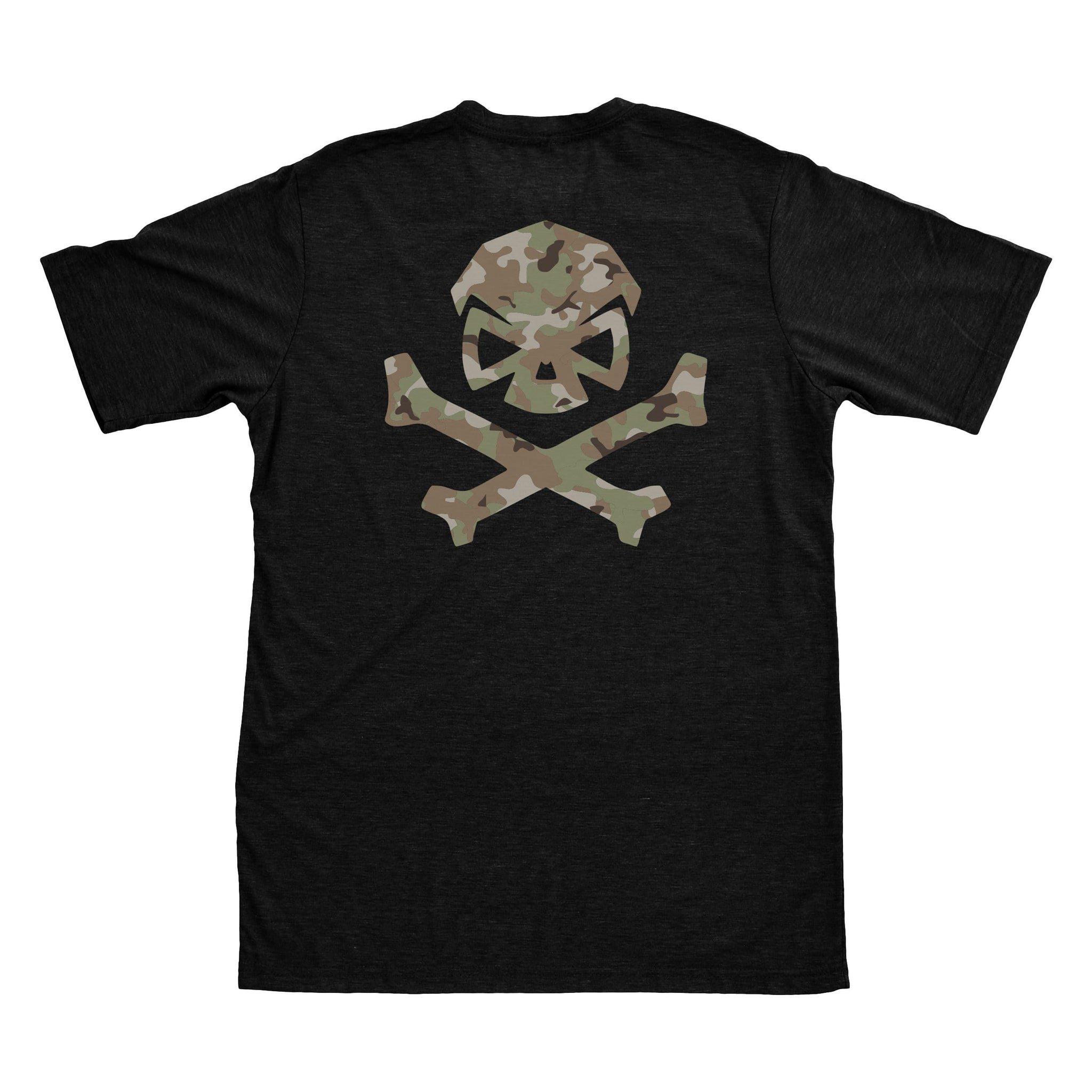Multicam Logo Tee - Black/Green_Multicam - T-Shirts - Pipe Hitters Union