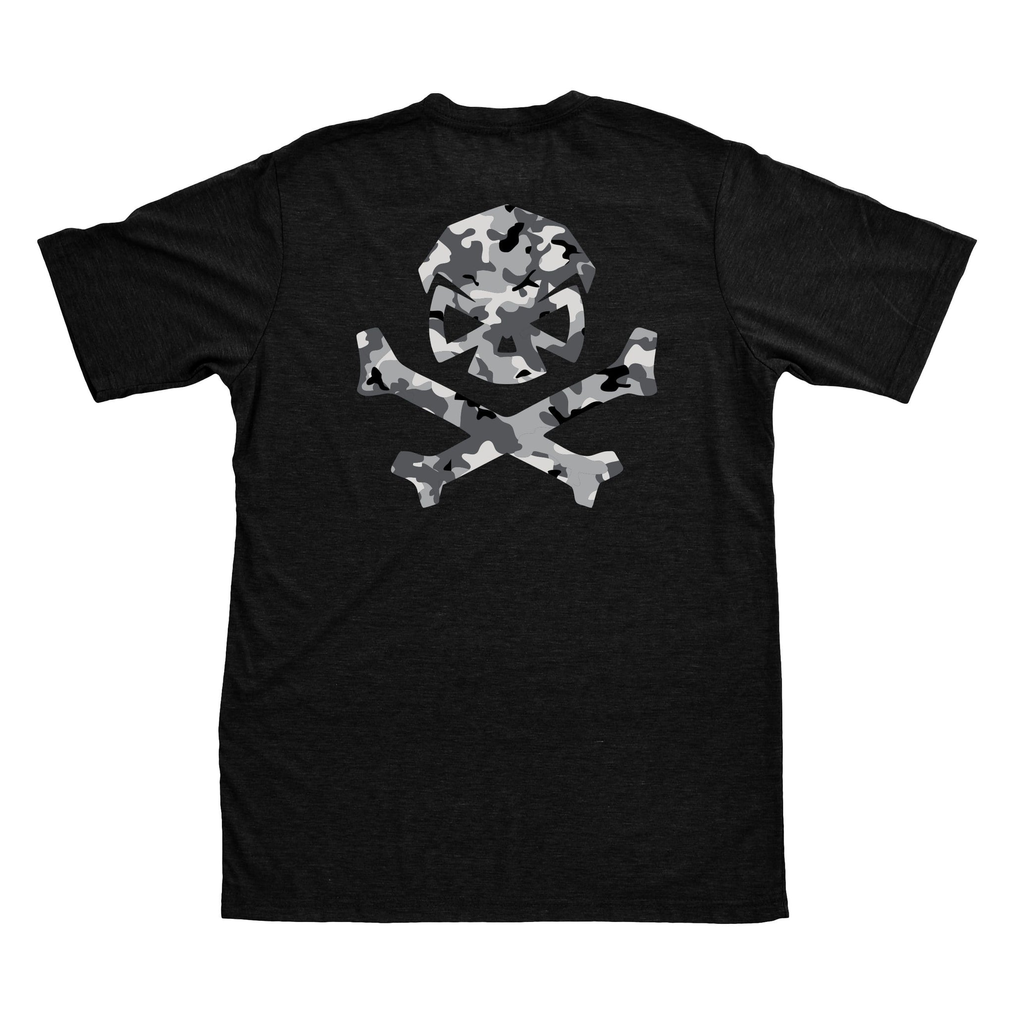 Multicam Logo Tee - Black/Grey_Multicam - T-Shirts - Pipe Hitters Union