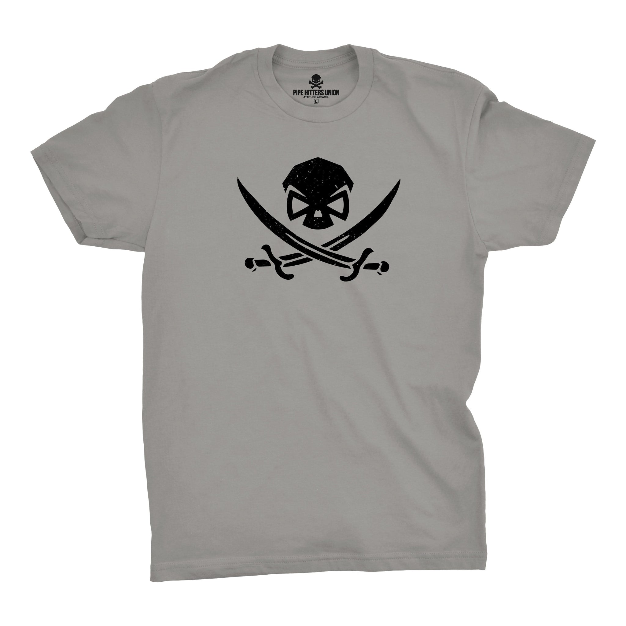 High Seas Hitter - Grey - T-Shirts - Pipe Hitters Union