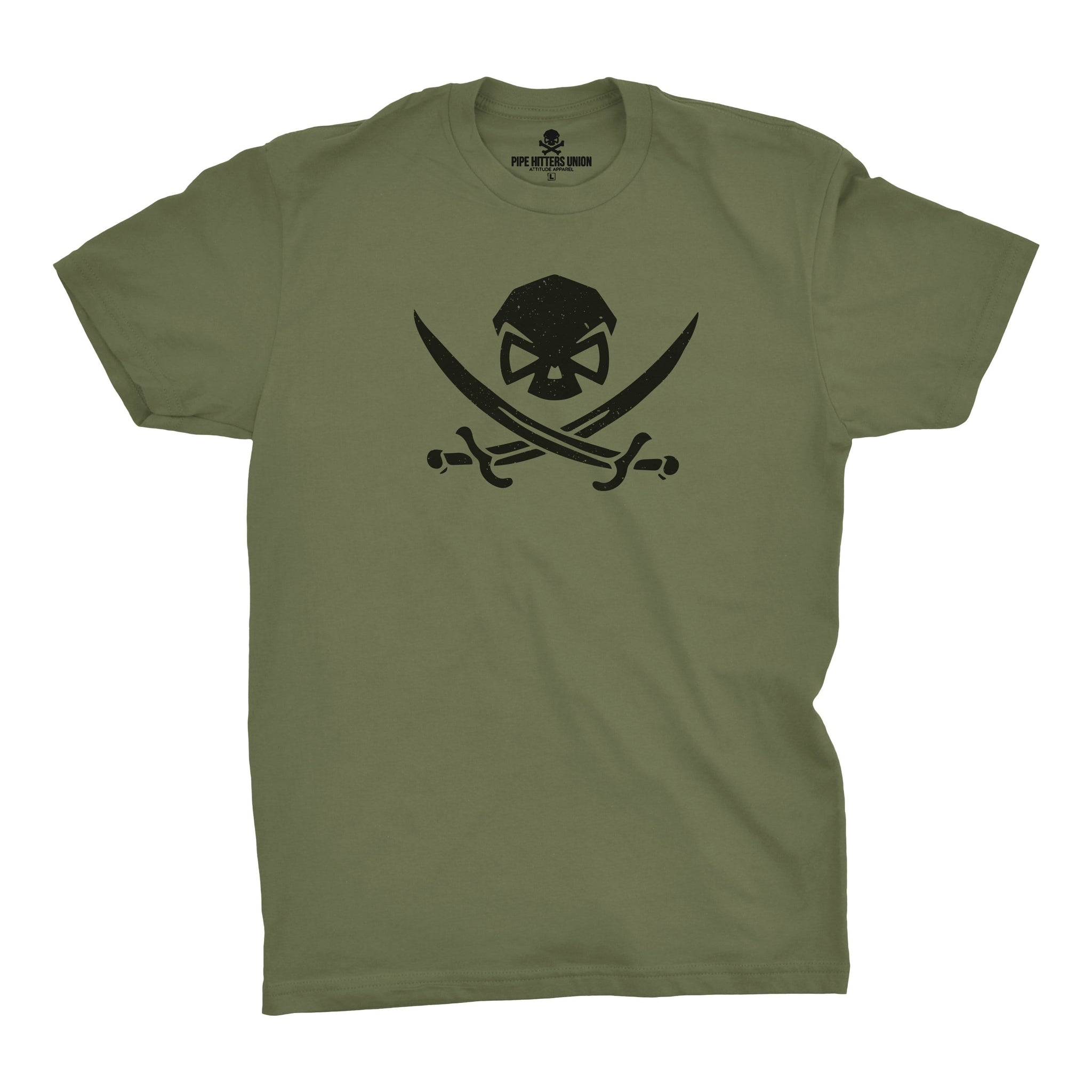 High Seas Hitter - Military Green - T-Shirts - Pipe Hitters Union