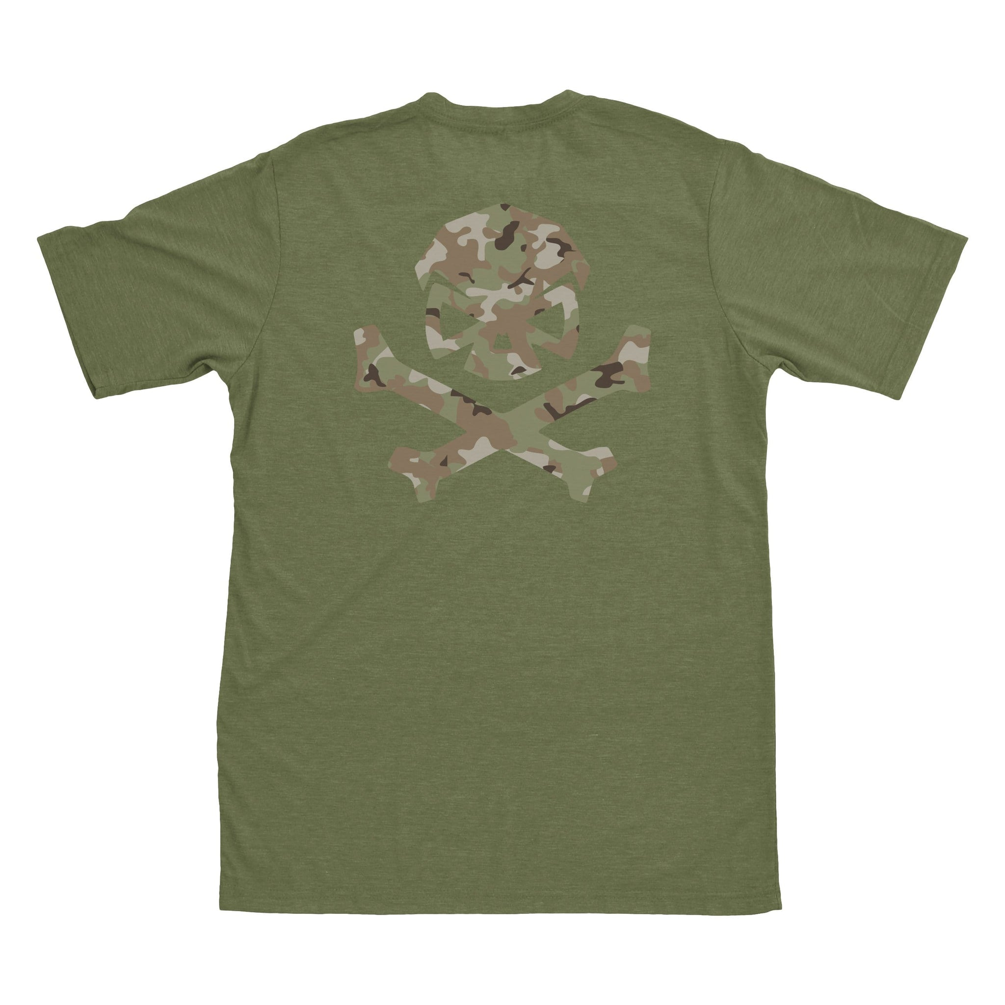 Multicam Logo Tee - Green/Green_Multicam - T-Shirts - Pipe Hitters Union
