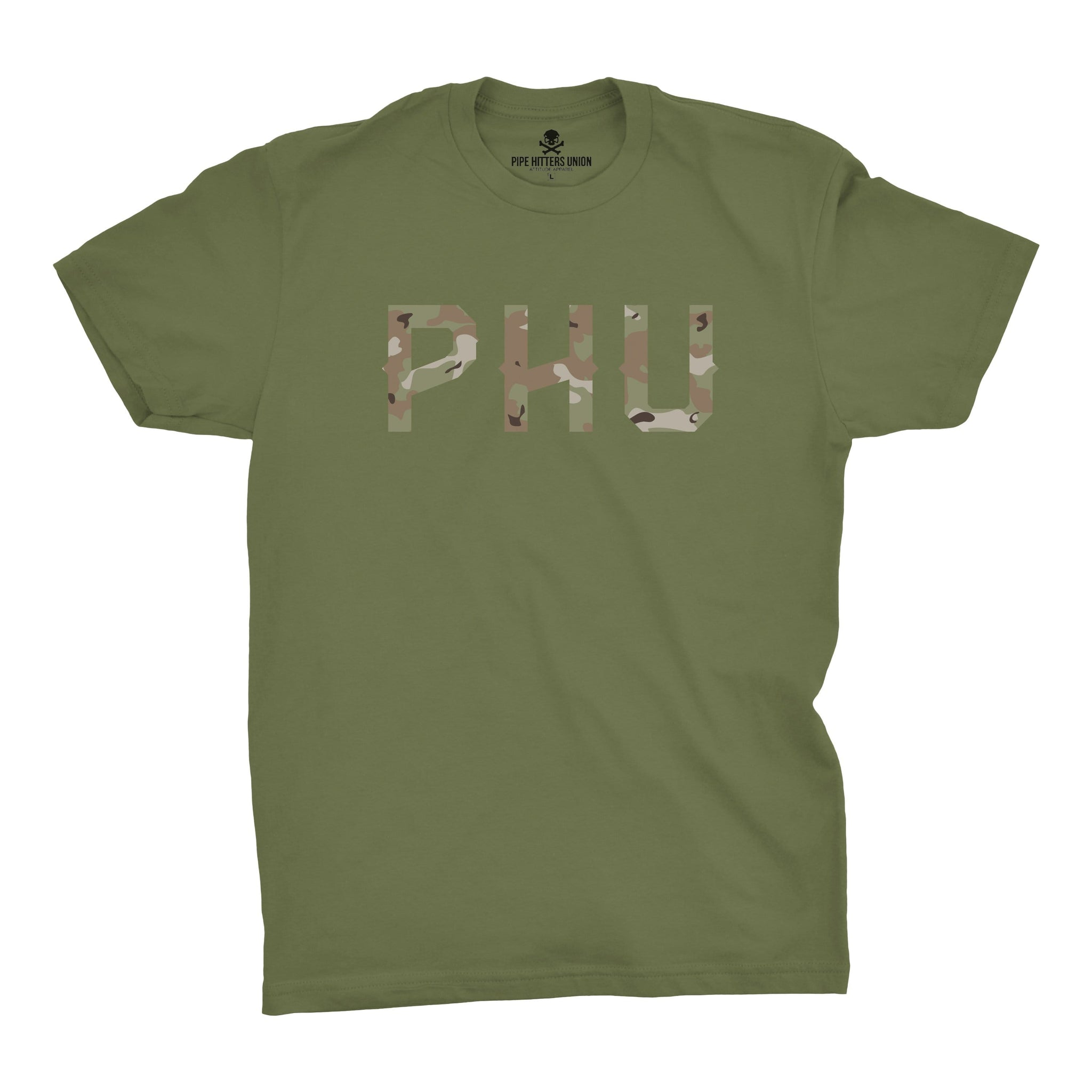 Multicam Logo Tee -  - T-Shirts - Pipe Hitters Union