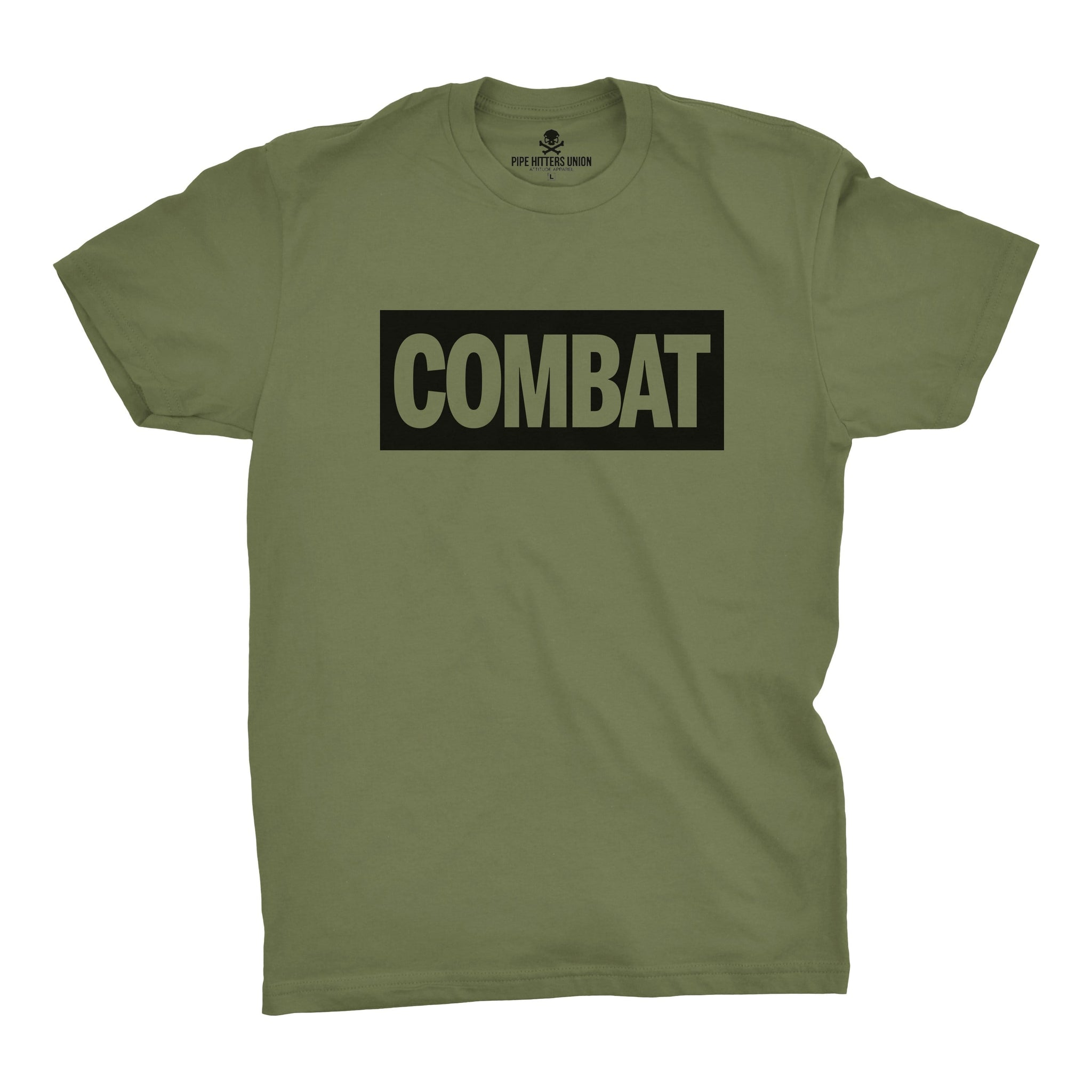 Combat - Military Green - T-Shirts - Pipe Hitters Union