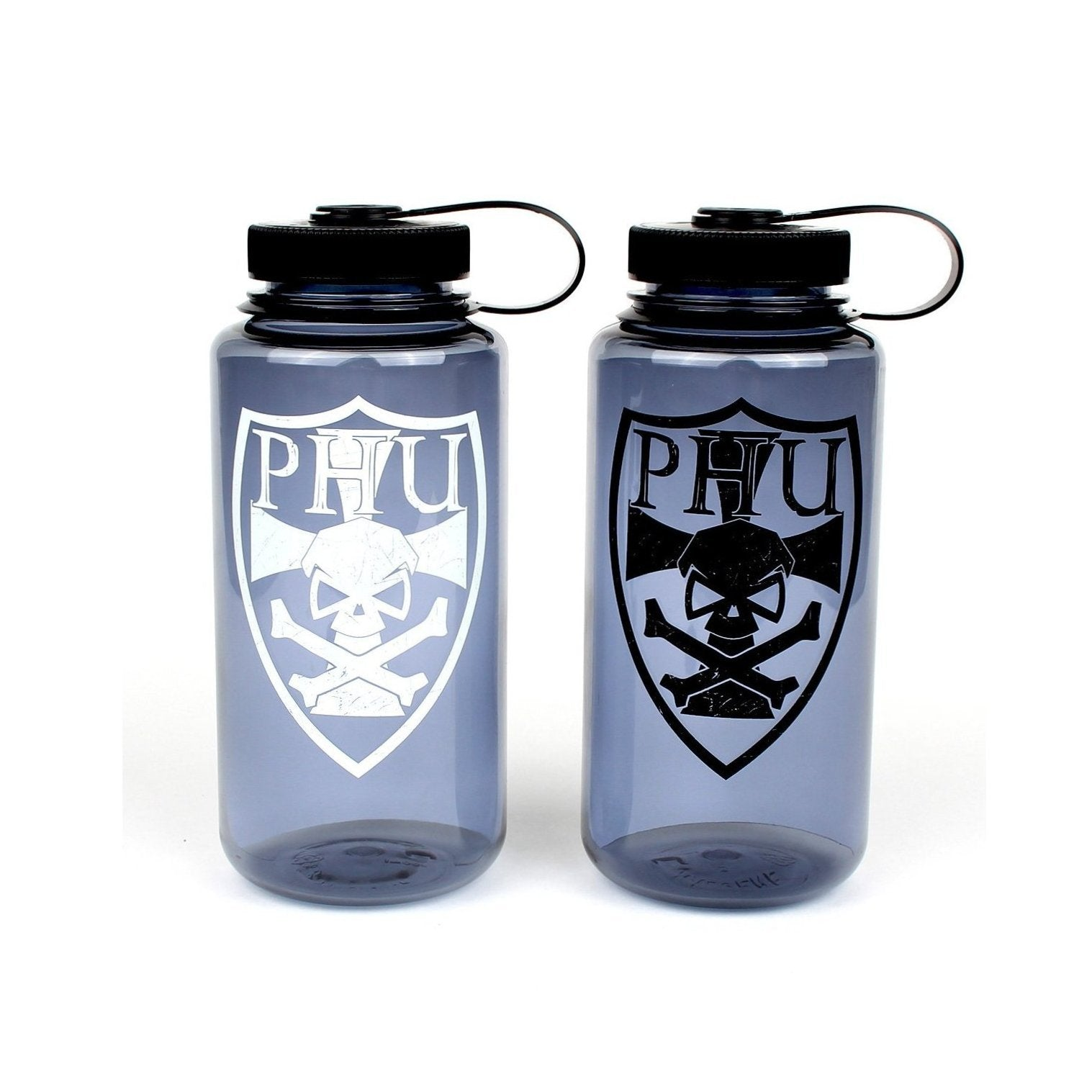 Nalgene Bottle with Templar Shield - Pipe Hitters Union