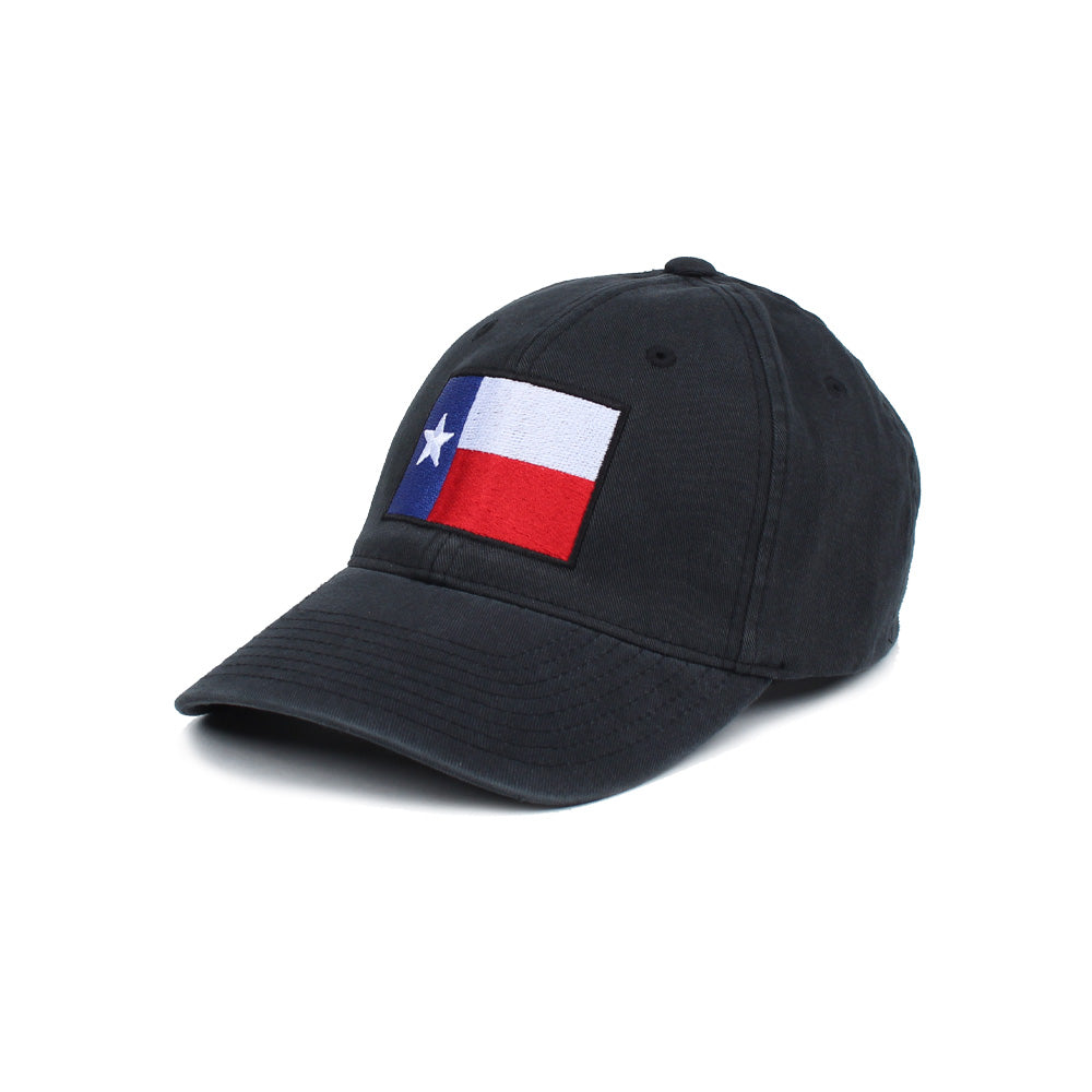 Texas Flag - Black - Hats - Pipe Hitters Union