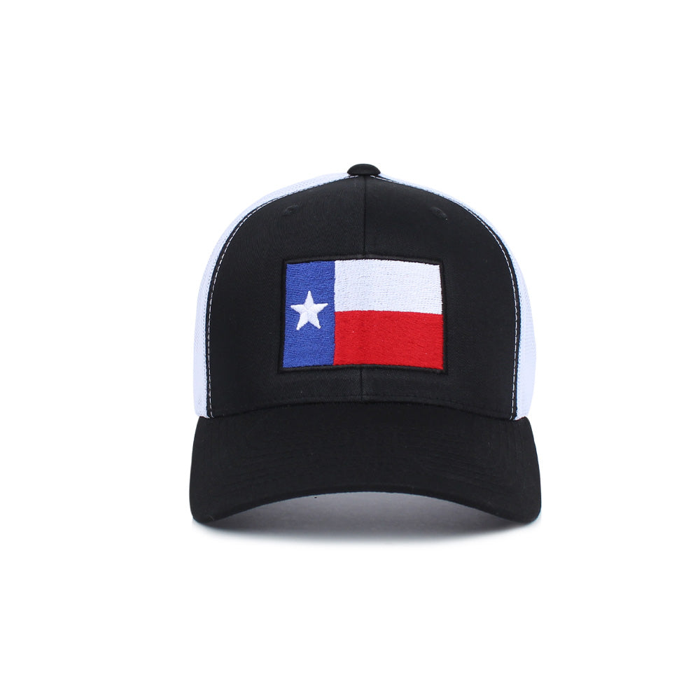 Texas Flag Trucker -  - Hats - Pipe Hitters Union