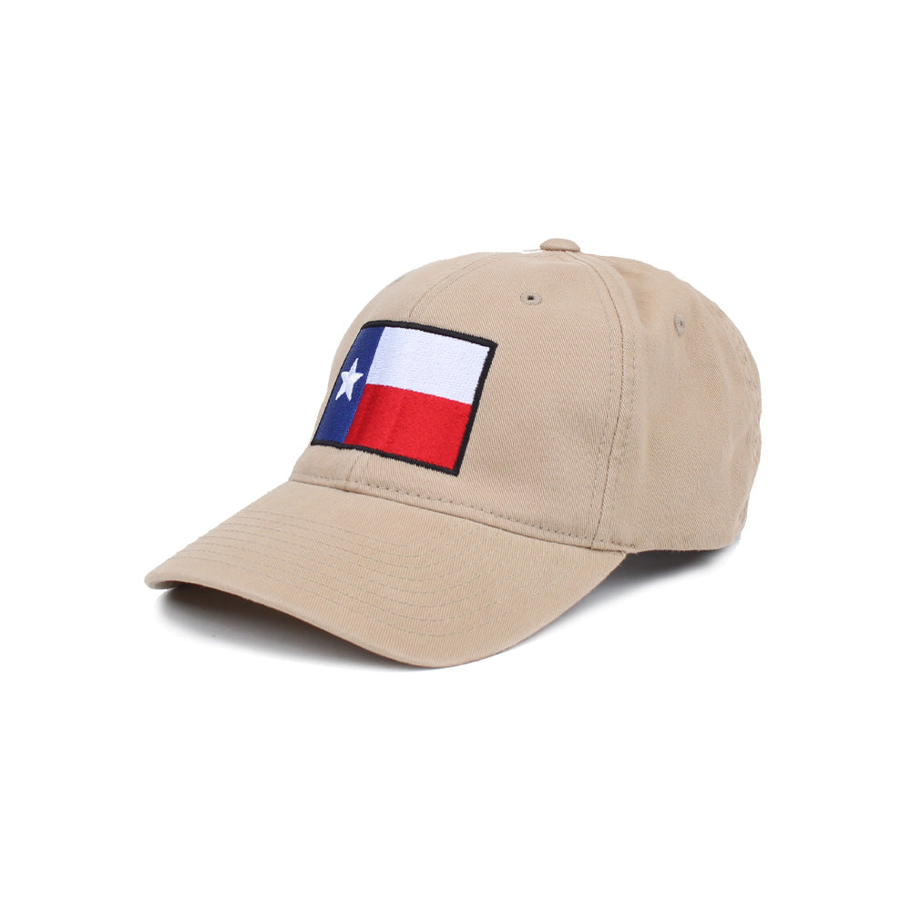 Texas Flag - Khaki - Hats - Pipe Hitters Union